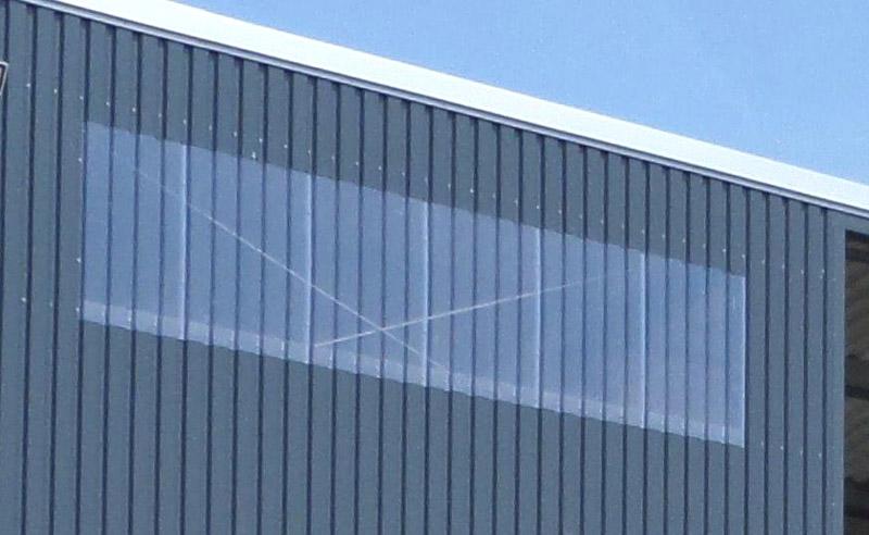 Fenster Lichtbänder Pro Tec Systembau Stahlbau Hallenbau