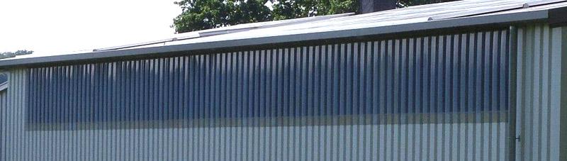 Relativ Fenster / Lichtbänder | Pro-tec Systembau | Stahlbau & Hallenbau QB16